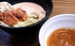 五ノ神水産「つけ麺鮭だらけ」アイキャッチ