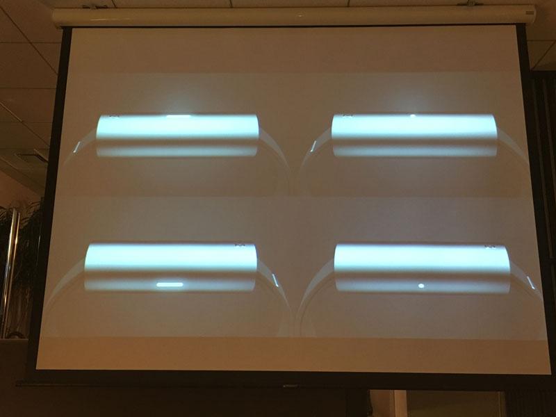 ライトやボタンといったテクノロジーらしさを極力排除し