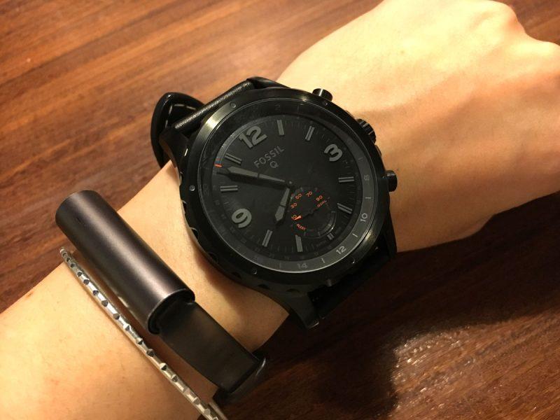 一見すると普通の時計だが、トラッキング機能が搭載されたハイブリッド・ウォッチ
